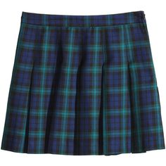 H&M Pleated skirt ($22) ❤ liked on Polyvore featuring skirts, bottoms, h&m, navy blue, navy blue pleated skirt, blue pleated skirt, navy skirt and h&m skirts