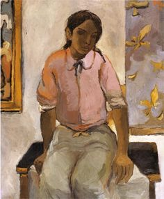 Portrait of a Young Indian, 1952  Fernando Botero