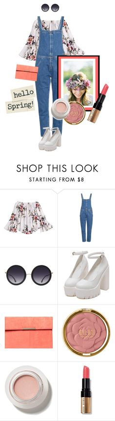"""Enjoy every day"" by missdee-93 ❤ liked on Polyvore featuring M.i.h Jeans, Alice + Olivia, Dorothy Perkins, Milani and Bobbi Brown Cosmetics"