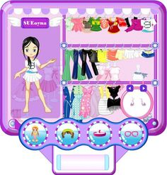 Hannah montana style dress up games