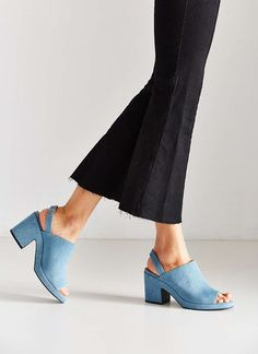 Cute blue shoes from Urban Outfitters
