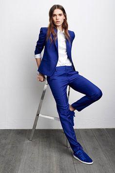 Comptoir des Cotonniers Fall 2015 Ready-to-Wear Fashion Show Androgynous Fashion, Tomboy Fashion, Suit Fashion, Fashion Show, Fashion Outfits, Paris Fashion, Street Fashion, Business Outfit Damen, Mode Costume