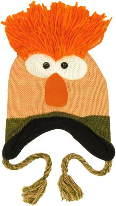 Shop for the Muppets Beaker Lapland Beanie today. This is an officially  licensed Muppets Beanie available at Stylin Online now. 9eadd4b9160f