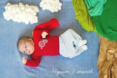Your baby& first year is a whirlwind. Check out these incredibly creative monthly photos that perfectly capture months one through 3 Month Old Baby Pictures, Monthly Baby Photos, Newborn Pictures, Monthly Pictures, Baby Posters, Baby Images, Dream Baby, Newborn Baby Photography, Kid Photography