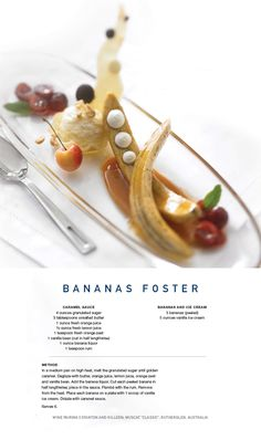 We're sharing another fantastic #dessert! Enjoy our #Banana #Foster #recipe.