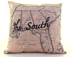Southern Pride Pillow Cover on BourbonandBoots.com. ☀CQ Keepin' it Southern!