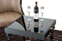 Side Tables - Vig Furniture  A&X Saure Transitional Black Gloss End Table | VGUNRK801-2-BLK | | $1009.80. Buy it today at www.contemporaryfurniturewarehouse.com