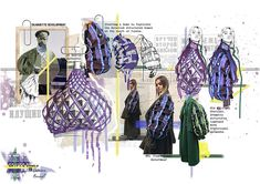 Fashion Design Sketches 560627853616480119 - Jasmine Bennett — Northumbria Fashion Source by Mode Portfolio Layout, Mise En Page Portfolio, Fashion Portfolio Layout, Fashion Design Sketchbook, Fashion Design Portfolio, Fashion Design Drawings, Portfolio Ideas, Fashion Design Books, Drawing Fashion