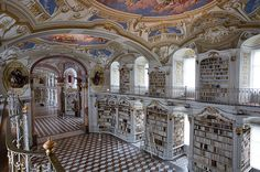 Admont Abbey Library Hall - Austria