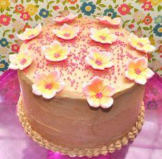 Belle cupcakes: VANILLA LAYER CAKE Y...RESULTADO DEL SORTEO!!