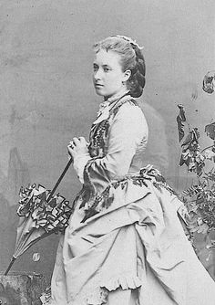 Princess Helena, (later Princess Christian of Schleswig-Holstein)  the third daughter and fifth child of Queen Victoria and Prince Albert.