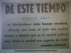 """Sale la revista """"De Este Tiempo""""."""