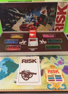 Vintage 1975 Risk Board Game Complete Parker Brothers Collectable   Toys & Hobbies, Games, Board & Traditional Games   eBay!