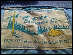 Frostline Kits were based in Boulder,Colorado and Denver, Coloradofor many years and they even had a store in Portland Oregon for awhile since there are so many big mountains nearby like Mt Hood and Mt St. Outdoor Companies, Kids Checklist, Camping Store, Big Mountain, Clothing Tags, Camping World, Camping With Kids, Vintage Labels, Outdoor Gear