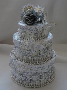 Geldgeschenk zur Hochzeit ,Schachtel,Box von Plan B auf DaWanda.com