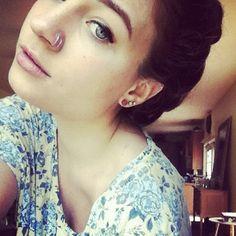 I want a double nose piercing sooooooo bad!