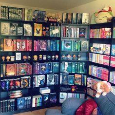Woooooooow! Quiero tener mis libros así de ordenados