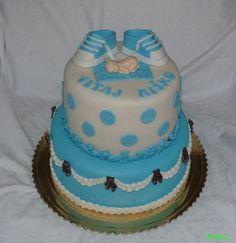 Christening cake for boy - krstinová torta pre chlabca