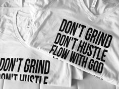 Don't Grind, Don't Hustle, Flow With God | The Official PrincessDominique.com
