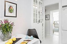 Cozinha: Tour pelo apartamento escandinavo