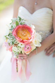 Photography: Heather Cook Elliott Photography - http://www.stylemepretty.com/portfolio/heather-cook-elliott Wedding Dress: JLM Couture, Inc - http://www.stylemepretty.com/portfolio/jlm-couture Floral Design: Marius Bell Floral & Events - http://www.stylemepretty.com/portfolio/marius-bell-floral-events   Read More on SMP: http://www.stylemepretty.com/2014/08/26/elegant-rustic-summer-warehouse-wedding-at-historic-pritzlaff/