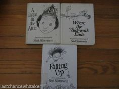 ***SOLD*** shel silverstein lot of 3 books first editions HC