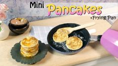 Miniature Food Pancake Tutorial // DIY Miniature Food // SugarCharmShop - YouTube
