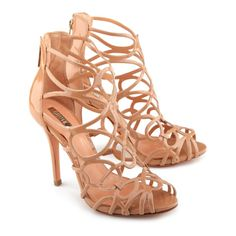 1f53ac9ddc5 SANDÁLIA GLADIADORA NUDE Me Too Shoes
