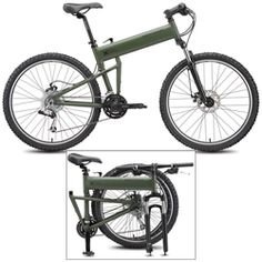 Paratrooper Folding Mountain Bike