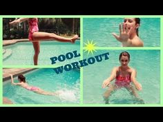 Summer Pool Exercises for Beginners!