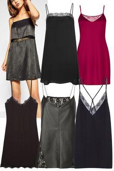 La slip dress, sélection shopping 2017