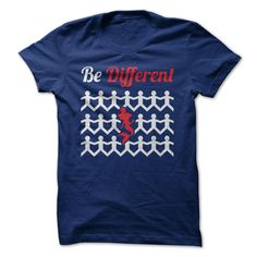 Be Different T-Shirts, Hoodies. BUY IT NOW ==► https://www.sunfrog.com/LifeStyle/Be-Different-72323641-Guys.html?id=41382
