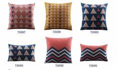Digital printing plain matural cushion cover linen sofa cushion
