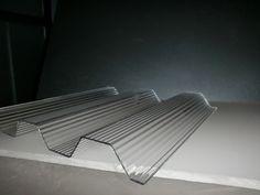 PC Wellplatten, Lichtplatten - trapez 70/18 - in KLAR/ transparent