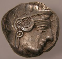 Silver Tetradrachm, Greece 449-413 B.C.