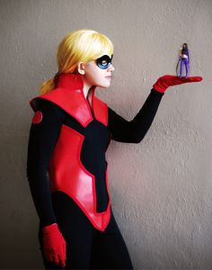 Stature and Hawkeye Epic Cosplay, Marvel Cosplay, Young Avengers, Hawkeye, Playboy, Costumes, Superhero, Cassie, Nerd