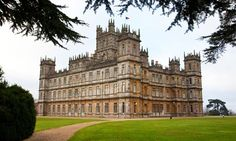 Highclere Castle in Berkshire- Downton Abbey House