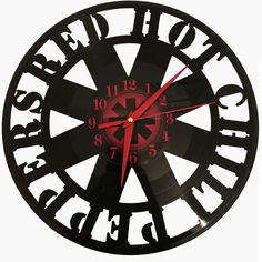 Ceas disc vinil - RED HOT CHILI PEPPERS