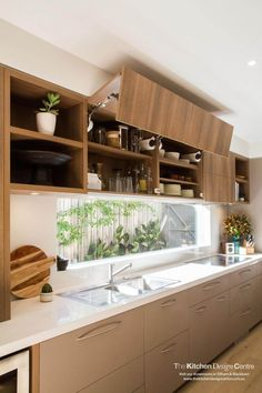 bi-fold kitchen cabinetry
