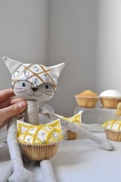 Pat Cat | little beings designed by alice | the ballerina chef