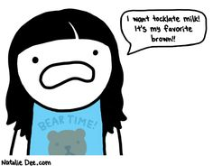Natalie Dee has funny cartoons...I use daily in my IMs to make my point and get my frustrations out.