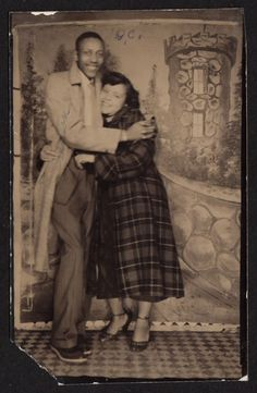 DEEP LOVE BLACK COUPLE & CASTLE BACKDROP ~ 1940s SEGREGATION ERA PHOTO | Collectibles, Photographic Images, Vintage & Antique (Pre-1940) | eBay!