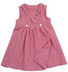 Robe à motif de couture - Wickelkleid # 143 - Nähen - Frocks For Girls, Little Dresses, Little Girl Dresses, Girls Dresses, Baby Dresses, Dress Girl, Baby Outfits, Kids Outfits, Baby Dress Patterns