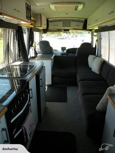 TOYOTA COASTER (Unique Layout) | Trade Me Motorhome Interior, Bus Life, Workshop Storage, Bus Camper, Camper Conversion, Tiny House Living, Home Additions, Tiny House On Wheels, Toyota