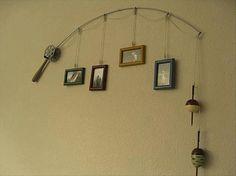 Fishing Pole Decoration