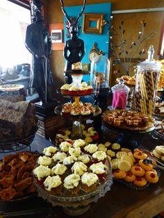 Dessert Buffet at Steampunk Wedding - Chittering Acres Art Studio