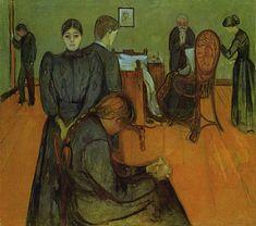 Rede HumanizaSUS | Morte e Pintura: Alguns Quadros de Edvard Munch