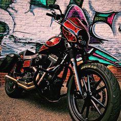 "294 Likes, 14 Comments - Johneville (@johneville_bastard) on Instagram: ""Oh.... heyyyyyyyy ⚡️⚡️ #teamPBM #motorcycles #PBMworldwide #PBM #thatbikelife #clubstyle…"""