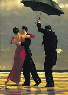 """""""The Singing Butler"""" by Jack Vettriano. So romantic!"""