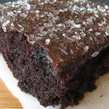 zucchini cakes, amaz moist, chocolates, bourbon glaze, recip